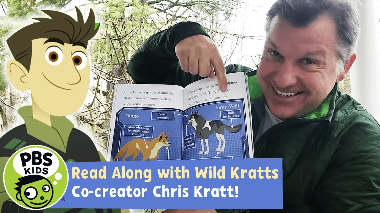 Wild Dogs and Canines | Wild Kratts READ ALONG! | PBS KIDS
