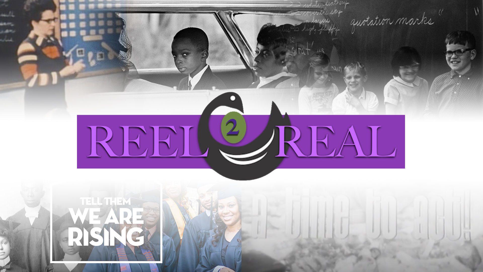 Sankofa REEL2REAL film festival title card